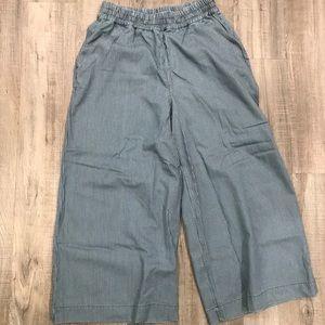 Sweaty Betty Pants & Jumpsuits - ONE DAY SALE! Sweaty Betty dusk wide leg culottes